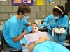 Students in CVCC's Dental Assisting Program