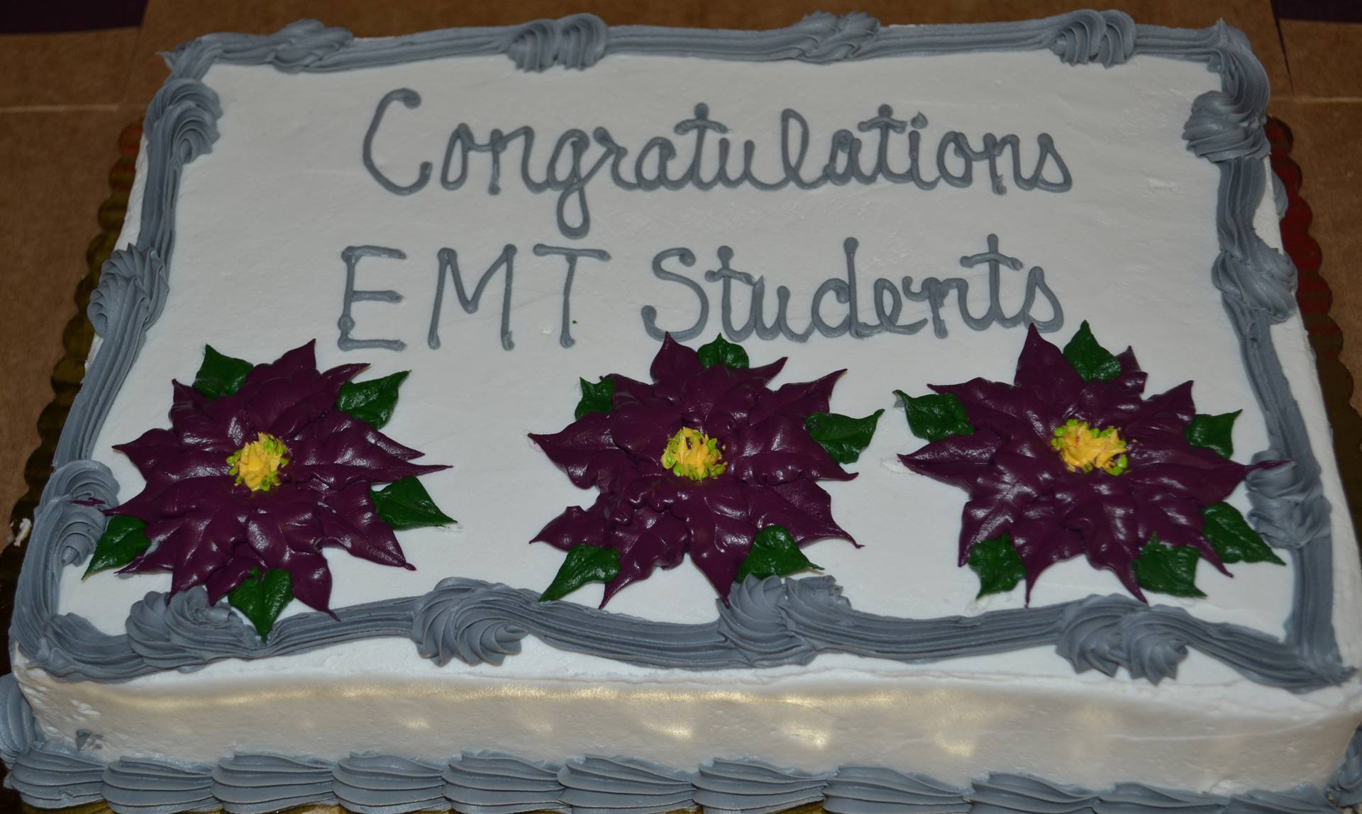 EMT Graduation Dec. 21, 2017