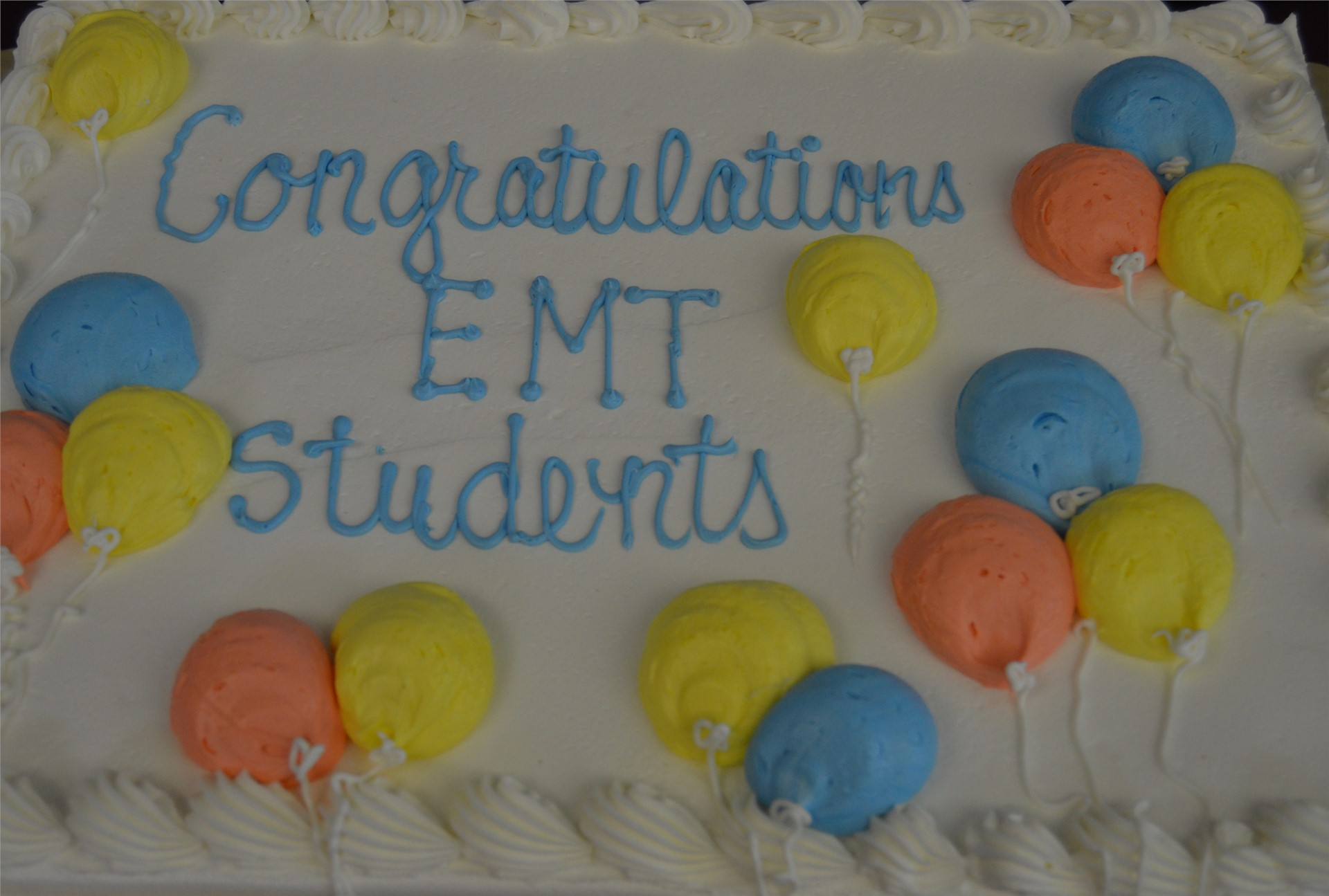 EMT Graduation Ceremony May 2017
