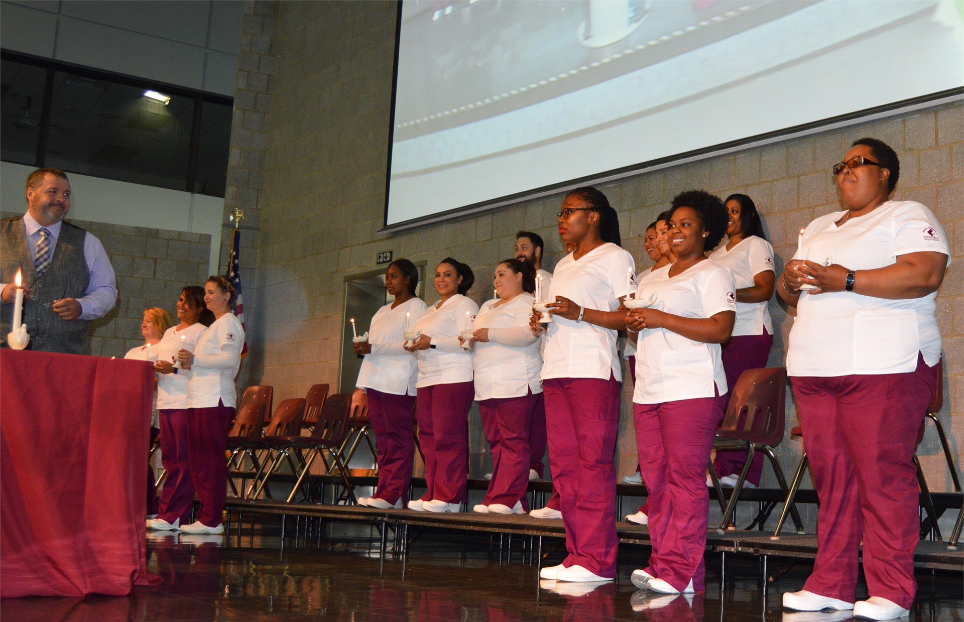 Nursing Candlelighting Ceremony June 2017