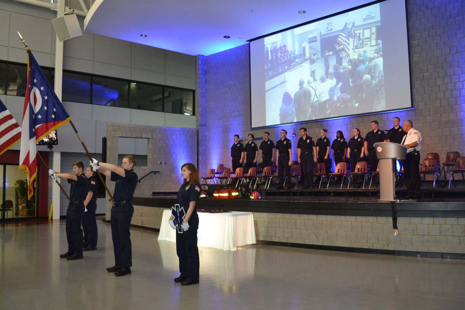 Public Health & Safety Ceremony May 17, 2018